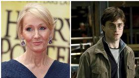 J. K. Rowling končí s Potterem. Foto: