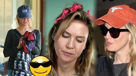 Filmová Bridget Jones bez makeupu! Foto: