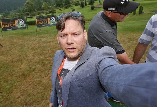 Matěj Ruppert a jeho selfie z festivalu v Karlových Varech Foto: selfie:-)
