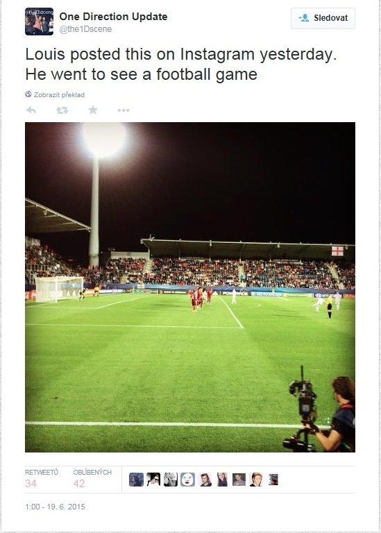 Byl viděn na fotbalovém zápase v Uherském hradišti Foto: