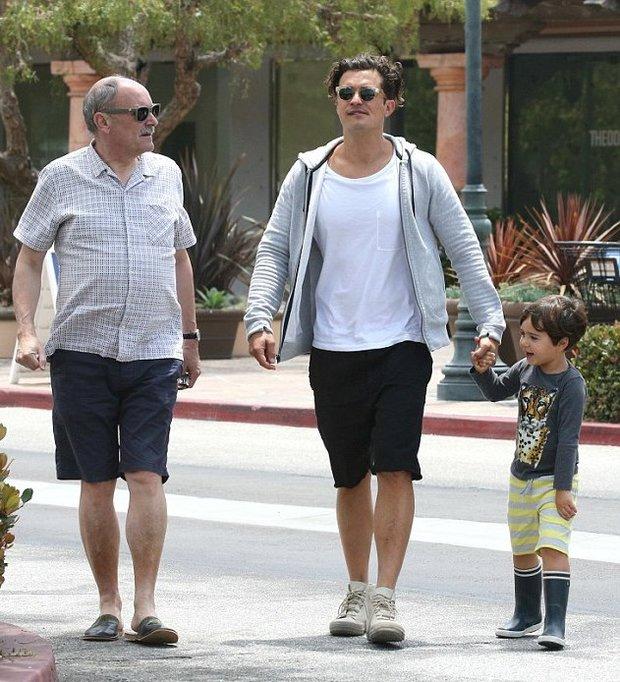 Orlando Bloom je táta na plný úvazek - Obrázek 4 Foto:
