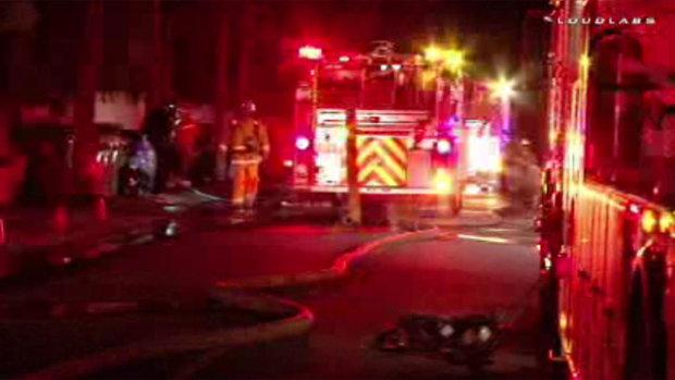 Zasahovalo několik hasičských jednotek Foto: