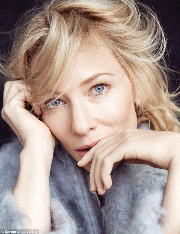 Cate Blanchett je opravdu krásná žena v nejlepších letech Foto: