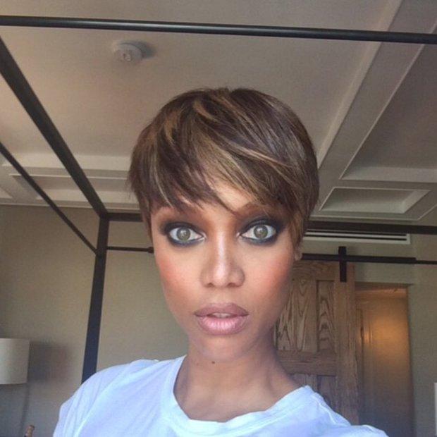 Tyra Banks vypadá jako žabí UFO! Její fotky bez make-upu vás vyděsí - Obrázek 5 Foto: