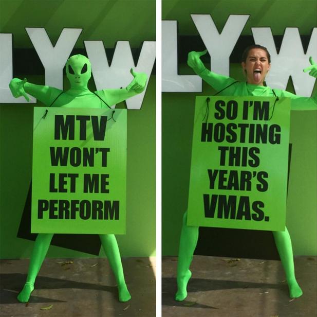 MTV mě nenechá vystupovat, tak předávání cen budu moderovat! Foto: