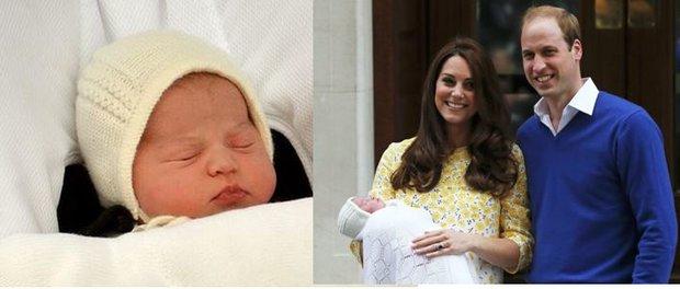 Kate s Williamem ukázali královskou princeznu veřejnosti. Podívejte se na rozkošnou spící princeznu v galerii! Foto: