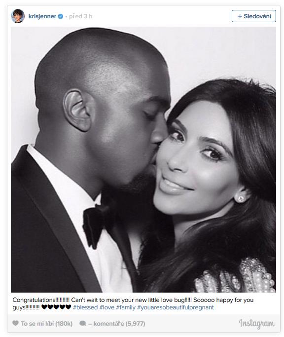 Kim je nyní velice šťastná Foto: