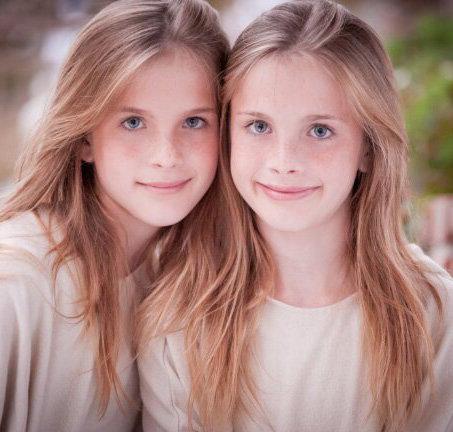 Dvojčata Noelle a Cali Sheldon. Foto: