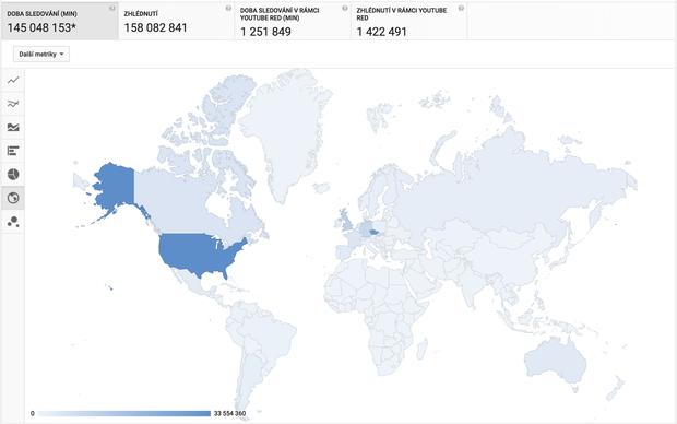 Misha - mapa sledovanosti Foto: