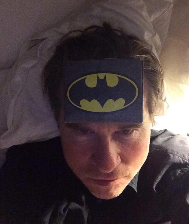 Val Kilmer vyvěsil toto selfie na svůj twitter Foto: