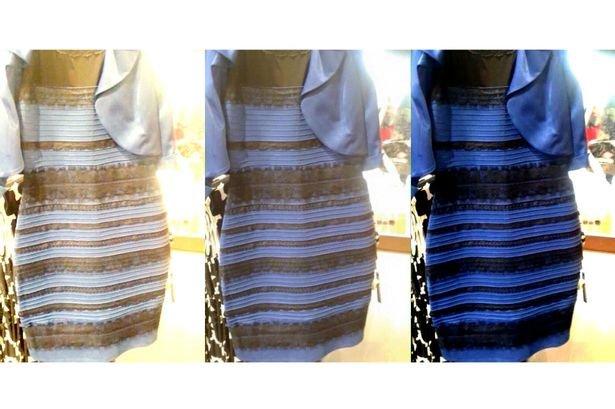 Jak lidé vnímají barvu šatů Foto: