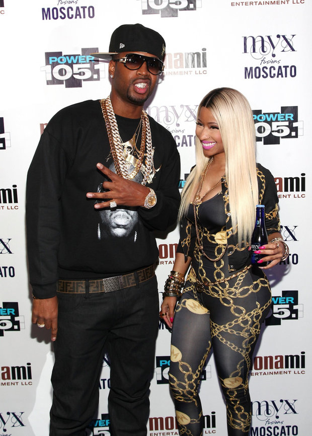 Nicki Minaj a Safaree Samuels   Foto: