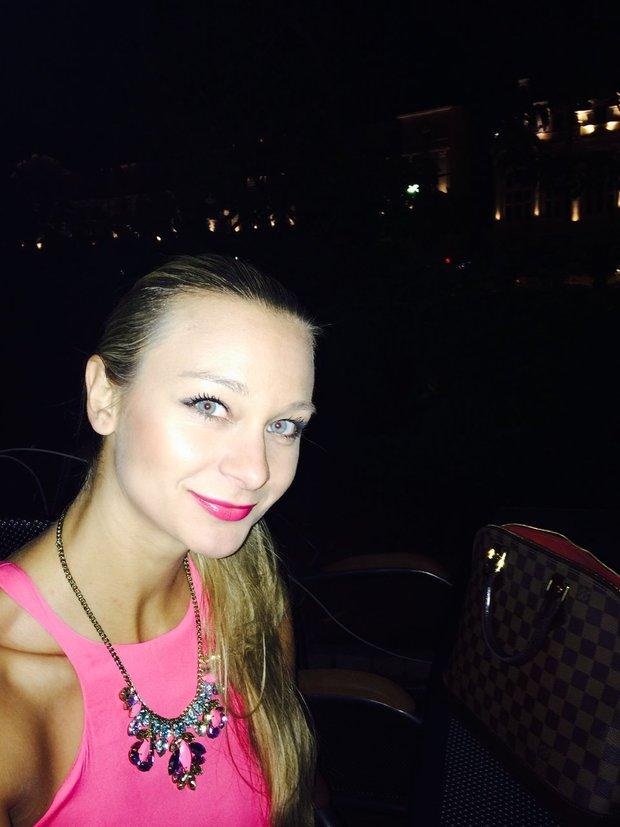 Bára Mottlová a její selfie z Varů Foto: selfie:-)