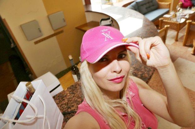 Kateřina Kristelová a její selfie z Varů Foto: selfie:-)