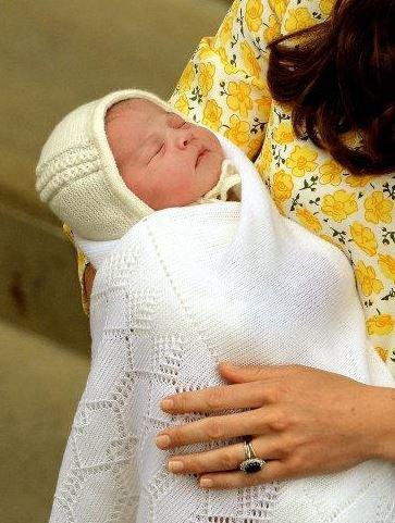 Jméno princezny zatím známé není. Foto: