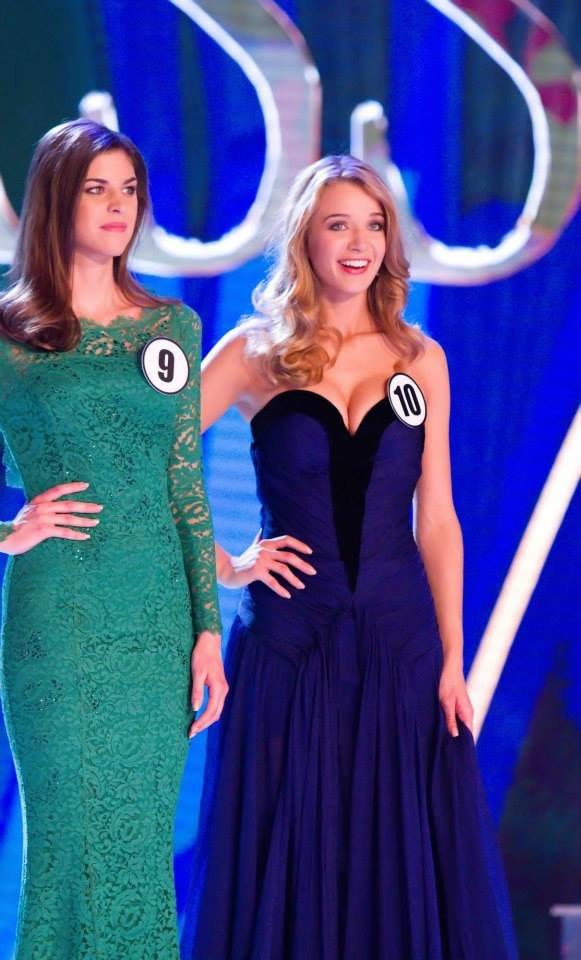 Nová Česká Miss Gabriela Franková se dozvídá, že vyhrála Foto: