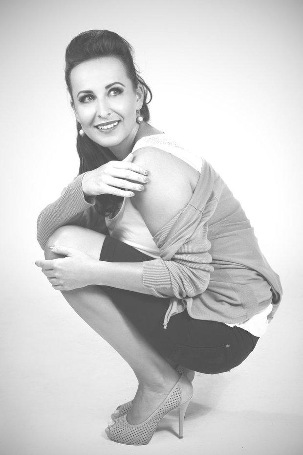 Černo-bílé fotky mají šmrnc, Lucii Šilhánové to na nich moc sluší Foto: Lucie Kroupová