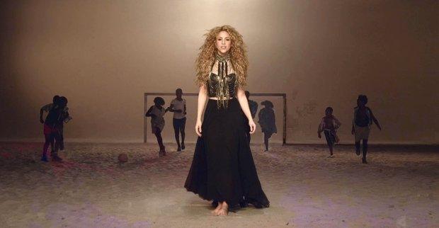 Shakira nazpívala písničku Lala, která bude konkurovat oficiální hymně We Are One (Ole Ola). Foto: profimedia.cz