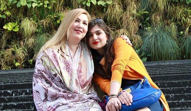 Gnoncheh Ghavami s matkou Foto: twitter