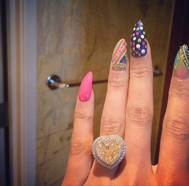 Zásnubní prsten Nicki Minaj Foto: