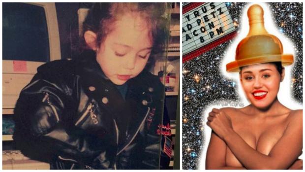 Porovnání Miley před a po... Foto: