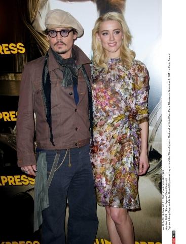 Johnny Depp se s Amber Heard seznámil při natáčení filmu Rumový deník Foto: