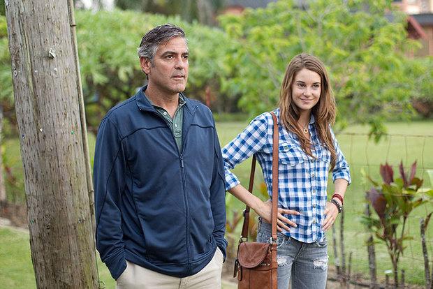 Film Moje děti George Clooney a Shailene Woodley Foto: bonton film
