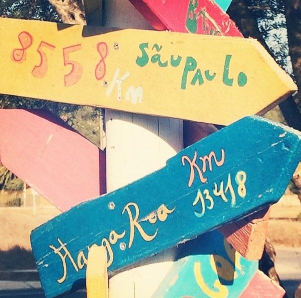 """""""Dnes jsem se naučila, že z Ibizy do Sao Paula to je 8 558km,"""" napsala k této fotce Petra. Foto: Instagram Petra Němcová"""