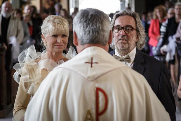 Milada Karasová řekla ano svému dlouholetému partnerovi Michalu Dujkovi Foto: Milan Marenčák