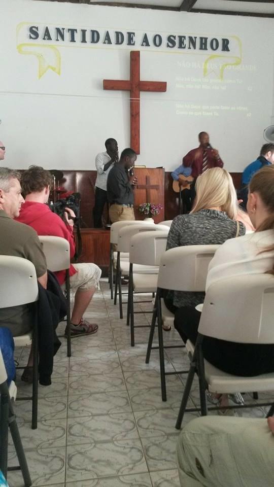 Mše byla vedena v gospelovém stylu a stálo to opravdu za to! Foto: