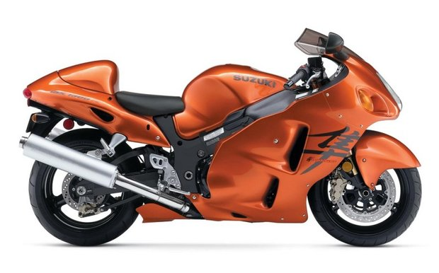 Nejrychlejší motorky světa - Suzuki Hayabusa Foto:
