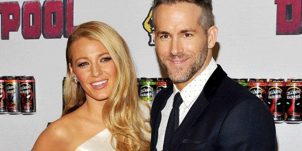 Blake Lively s manželem Ryanem Reynoldsem Foto: