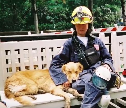Bretagne a její majitelka 11. září 2001 Foto: