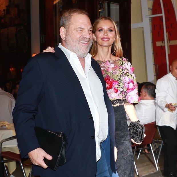 Harvey Weinstein a jeho manželka Foto: