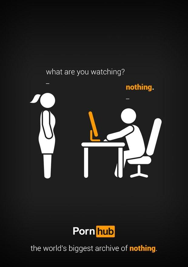 Pornhub plakát Foto: