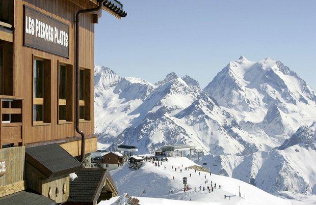 Lyžařské středisko Meribel ve francouzských Alpách Foto: