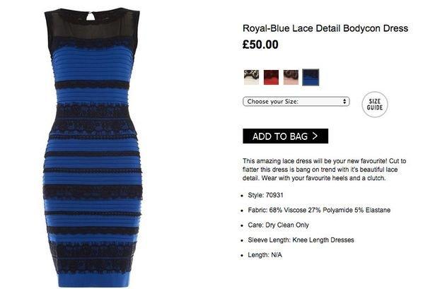 Opravdová barva šatů  Foto: