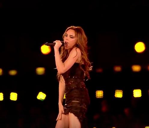 Victoria při vystoupení během olympiády. Foto: