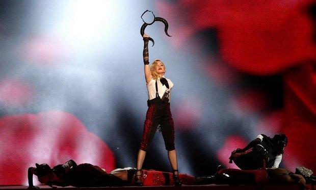 Obdivujeme její profesionalitu a to, že své vystoupení dokončila Foto: