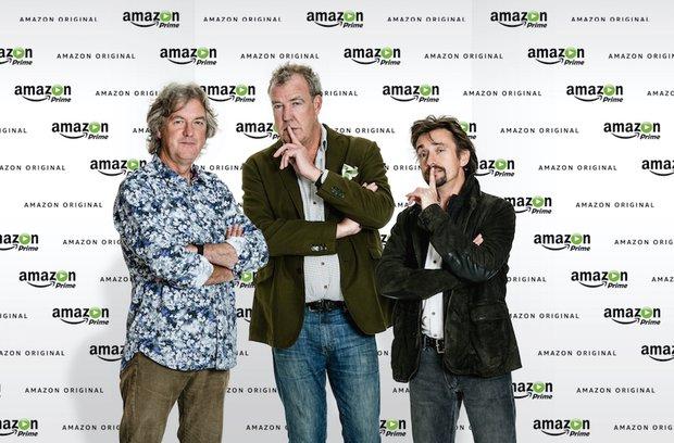 Trojka z pořadu Top Gear bude nově řádit na Amazon Prime Foto: