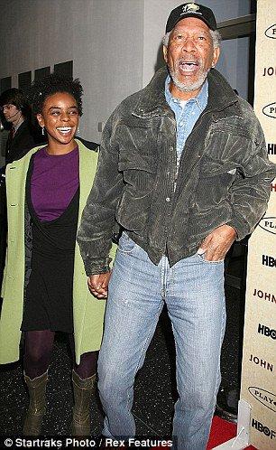 Morgan Freeman s vnučkou Foto: