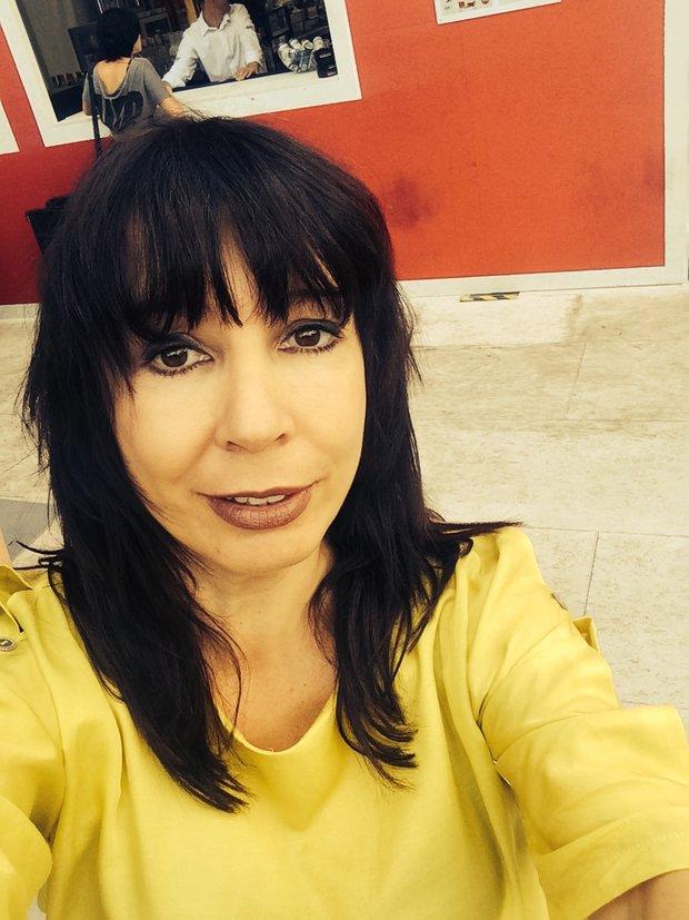 Nela Boudová a její selfie z Karlových Varů Foto: selfie:-)
